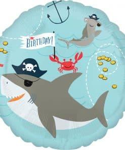 Ahoy Birthday Foil Balloon