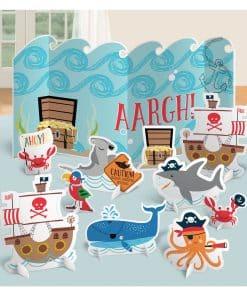 Ahoy Birthday Party Table Decoration Kit