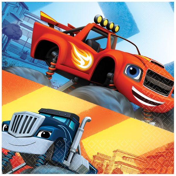 Blaze & The Monster Machines Party Paper Napkins