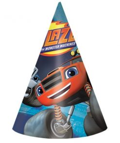 Blaze and the Monster Machines Party Cone Hats