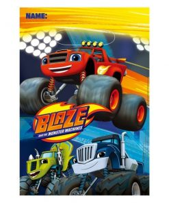 Blaze & The Monster Machines Party Plastic Loot Bags