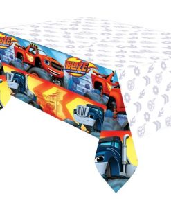 Blaze & The Monster Machines Party Plastic Tablecover