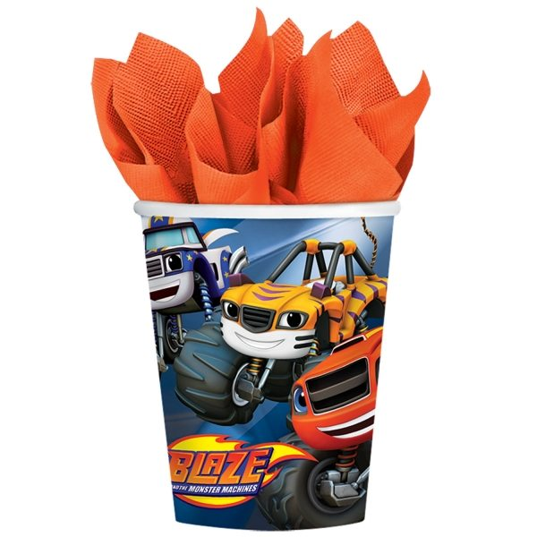 Blaze & The Monster Machines Party Paper Cups