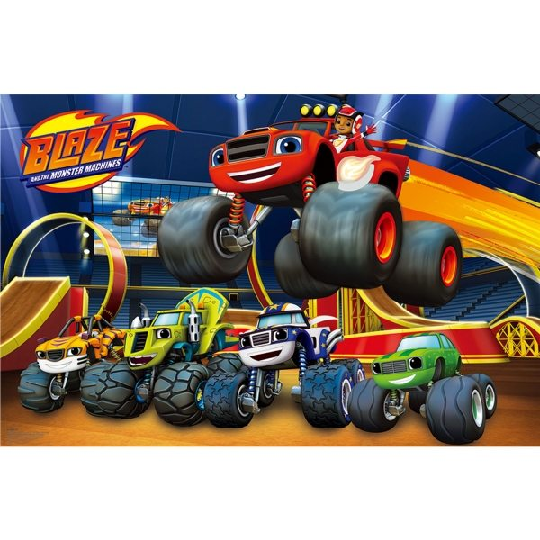 Blaze & The Monster Machines Party Game for 8