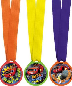 Blaze and the Monster Machines Party Bag Fillers - Award Medals