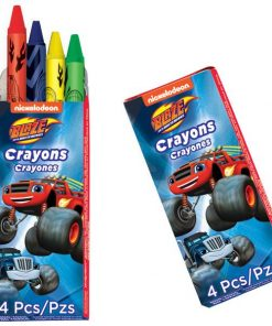 Blaze and the Monster Machines Party Bag Fillers - Crayons