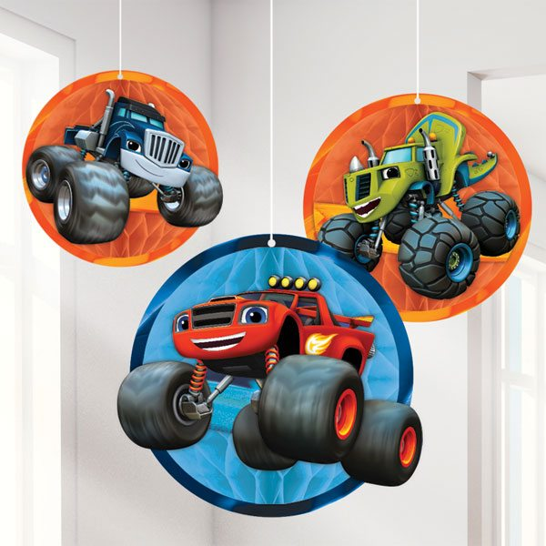 Blaze and the Monster Machines Honeycomb Balls