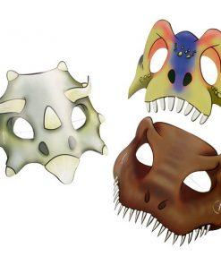 Dinosaur Attack Party Masks