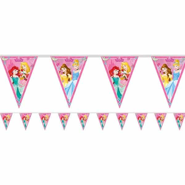 Disney Princess Party Plastic Bunting