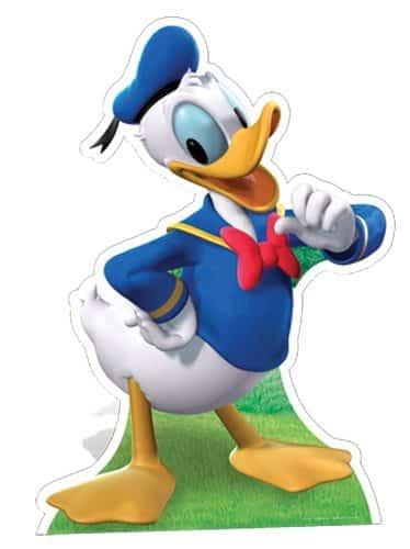 Donald Duck Cardboard Cutout