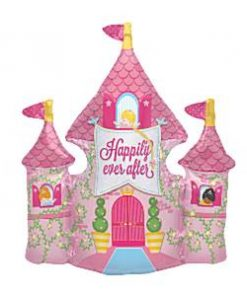 Happy Ever After Castle Foil Balloon