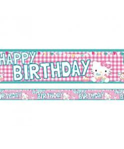 Hello Kitty Party Banner
