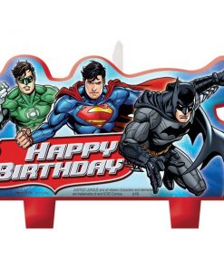 Superheroes Justice League Birthday Cake Candles