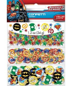 Superheroes Justice League Table Confetti