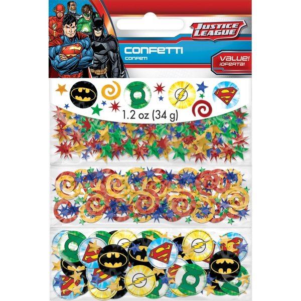 Superheroes Justice League Table Confetti