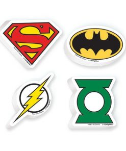 Justice League Party Bag Fillers Erasers (12pk)