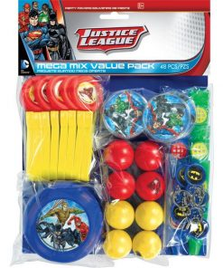 Superheroes Justice League Party Favour Pack