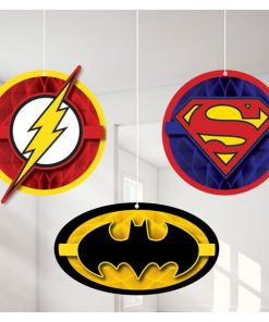 Superheroes Justice League Party Hanging Cut Out Decorations