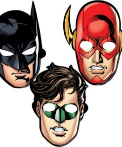 Superheroes Justice League Party Masks