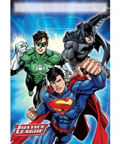 Superheroes Justice League Party Plastic Loot Bags