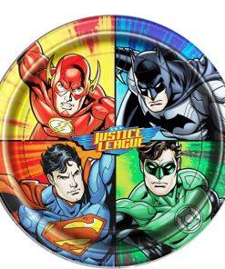 Justice League Party Paper Plates