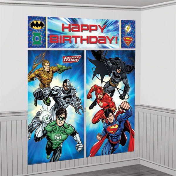 Superheroes Justice League Scene Setter