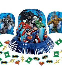Superheroes Justice League Party Table Decorating Kit