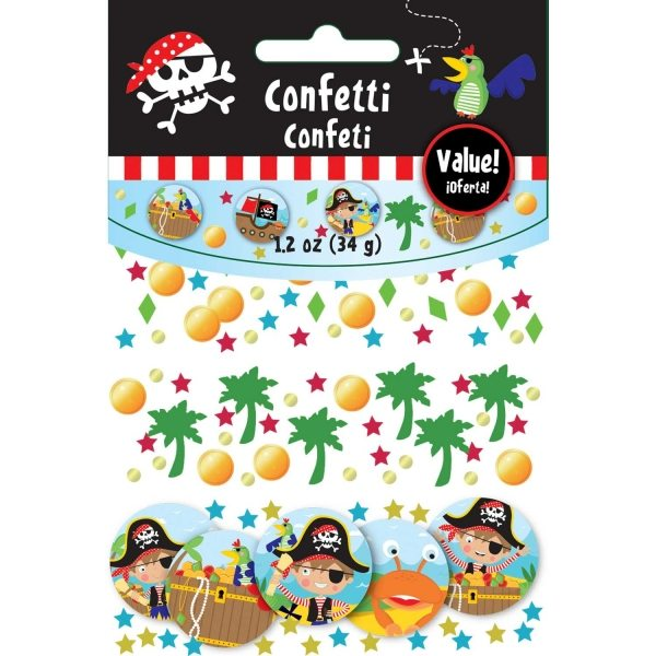 Little Pirate Party Table Confetti