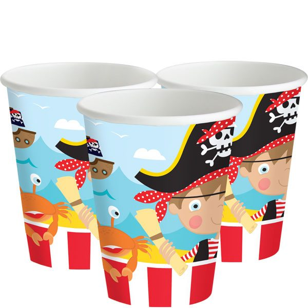 Little Pirate Party Paper Cups