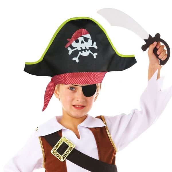 Little Pirate Party Bag Fillers - Deluxe Pirate Hat