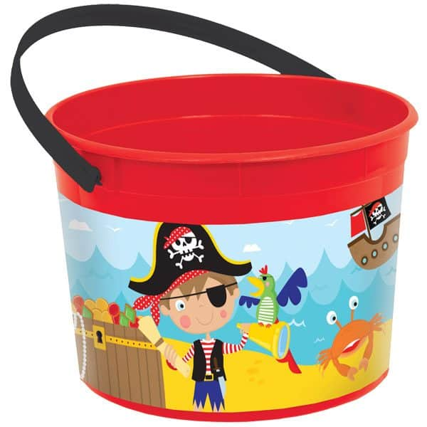 Little Pirate Party Favour Bucket