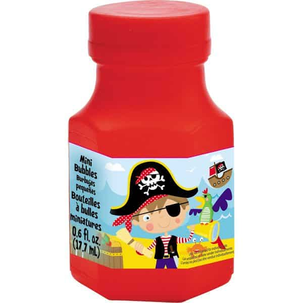 ittle Pirate Party Bag Fillers - Mini Bubble Tubs
