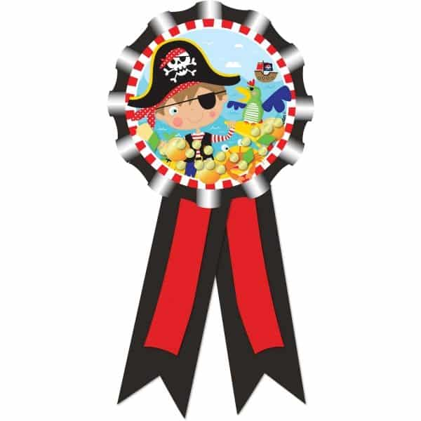 Little Pirate Party Award Ribbon