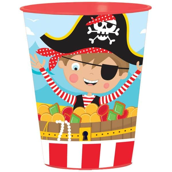 Little Pirate Party Bag Fillers - Favour Cup