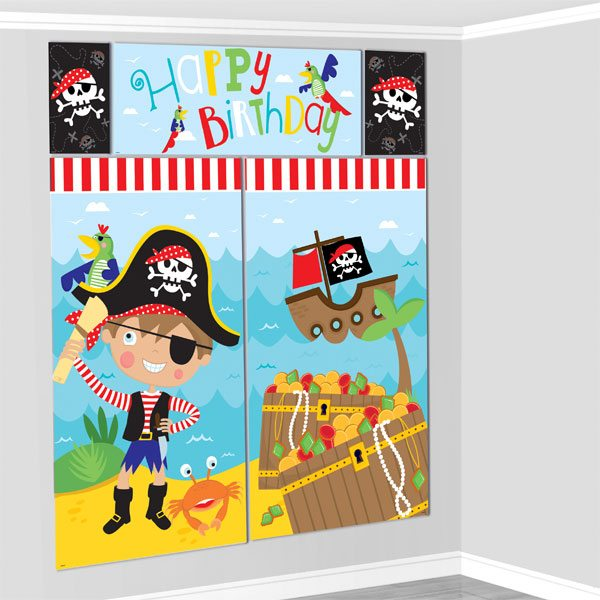 Little Pirate Party Scene Setter