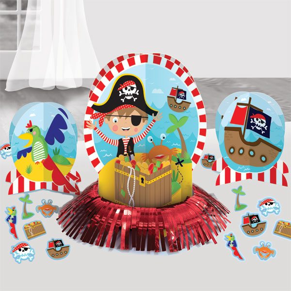 Little Pirate Party Table Decoration Kit