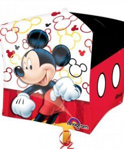 Mickey Mouse Party Cubez Foil Balloon