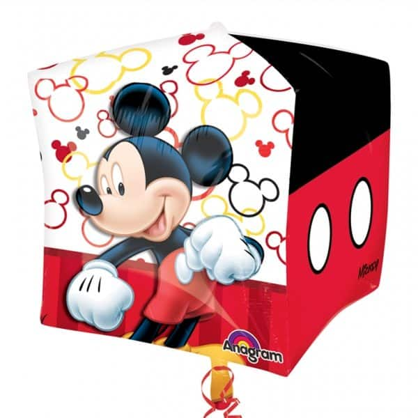 Mickey Mouse Party Cubez Foil Balloon