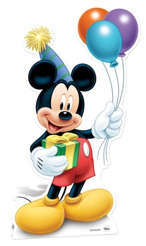 Mickey Mouse Party Cardboard Cutout