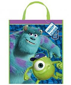 Monsters University Party Plastic Tote Loot Bag