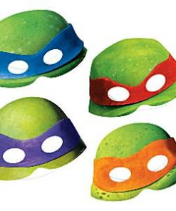 Ninja Turtle Party Card Masks
