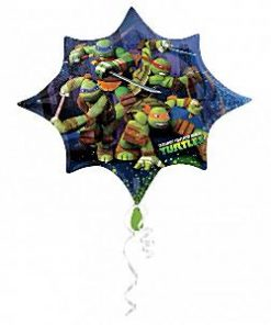 Ninja Turtle Party Supershape Foil Balloon