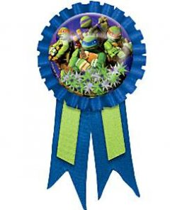 Ninja Turtles Party Bag Fillers - Award Ribbon