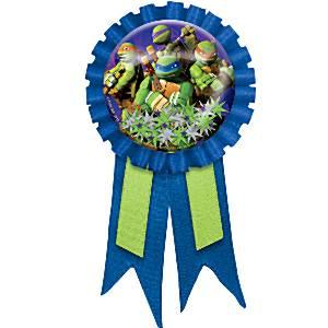 Ninja Turtles Party Bag Fillers - Award Ribbon