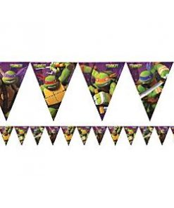 Ninja Turtles Party Plastic Bunting