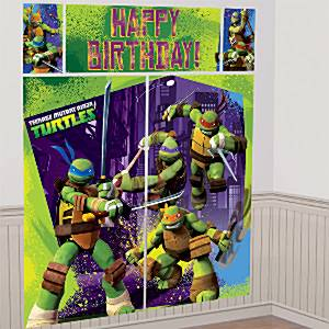 Ninja Turtles Party Scene Setter