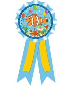 Ocean Buddies Party Bag Fillers - Award Ribbon