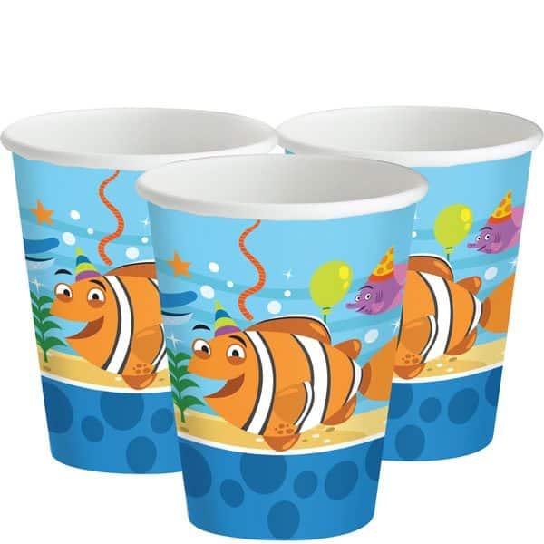 Ocean Buddies Party Cups