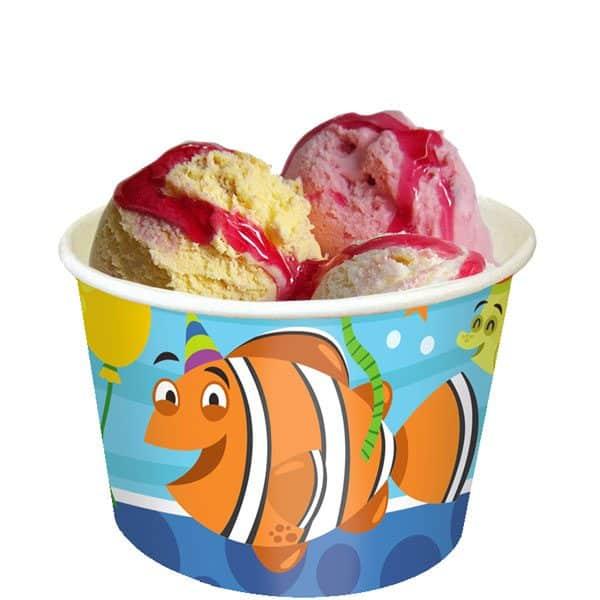 Ocean Buddies Party Ice Cream Tubs