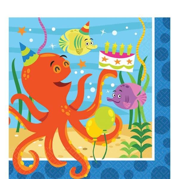 Ocean Buddies Party Paper Napkins